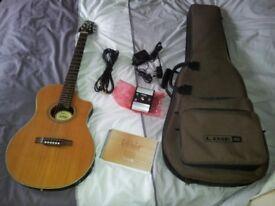 Line 6 Variax Acoustic 700. Line 6 Variax Acoustic guitar.