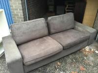 3 seater IKEA sofa x 2