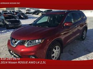 2014 Nissan ROGUE AWD SV **7 PASSAGERS / GROUPE TECHNOLOGIES**