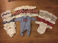 Newborn/First size baby boy bundle