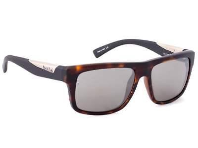 New Bolle Clint Sunglasses - 12095 - Matte Tortoise Frame w/ TNS Gun -