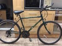 "Adults Raleigh Outland mountain bike. 18"" Frame. 26"" Wheels. Fully working"