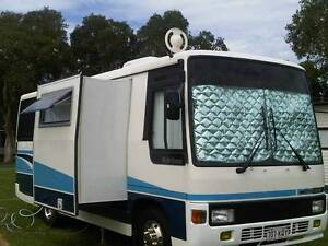 HINO WIDE BODY MOTORHOME WITH ELECTRIC SLIDE OUT Bundall Gold Coast City Preview