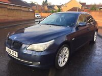 2008 BMW 520D SE, M-SPORT ALLOYS, LONG MOT UNTIL NOVEMBER 2017