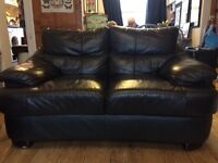 **REDUCED** Lovely Brown Leather Sofa