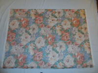 CURTAIN FABRIC MADE IN ENGLAND CHINTZ 100% COTTON SEWING CRAFTS BLINDS CUSHIONS NEW UNUSED QUALITY