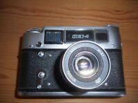 Russian Fed 4 camera