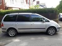 Ford Galaxy 1.9tdi ghia 115 6 speed turbo diesel VW Sharan Seat Alhambra 7 seats mpv