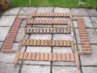 garden / lawn edging 42 inches x 6 inches x seven pieces