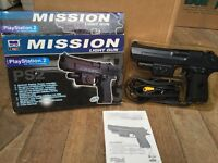 Mission Light Gun for Sony Playstation2 PS2