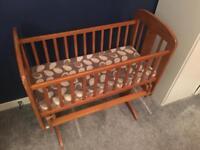 Baby crib John Lewis Anna Glider