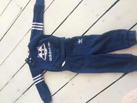 2 sets of Adidas baby trousers and jumpers (3-6 mths and 6-9 mths), price all in