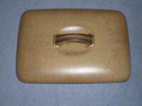 Denby serving dish lid, believed to be 'Ode' colour. In excellent condition.