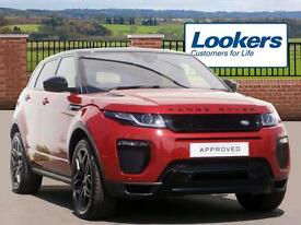 Land Rover Range Rover Evoque TD4 HSE DYNAMIC (red) 2016-06-29