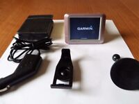 "GARMIN NUVI 250 CAR SAT NAV GPS 3 "" Touchscreen In Very Good Condition and Working Order"