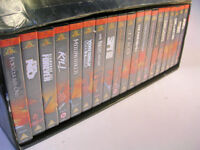 The James Bond 007 Collection Box Set Video Tapes (WH_2148)