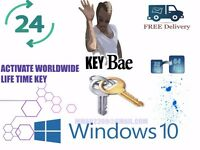 installing original windows 10 -8 - 7 32-64 bit at houses offices and all you need