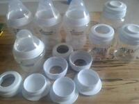 7 feeding bottles tommee tippee and avent