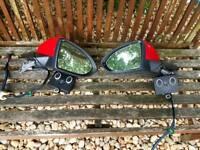 Vw Golf MK7 Folded Mirrors Set
