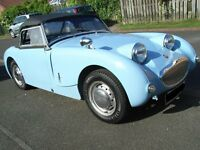 Austin Healey Frogeye Sprite, 1959. Restored 2010, Long Mot still in regular use Owned for 9 Years