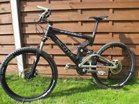 2007 Scott G-Zero Strike Ltd Carbon Fibre Professional Mountain bike 12.25kg
