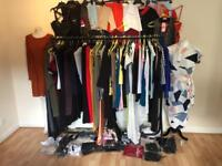 New ladies clothes job lot of approx 105 items
