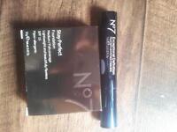 no7 foundation and mascara