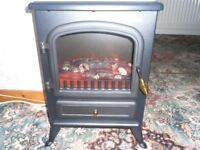 ELECTRIC BLACKSTOVE HEATER - NEW-VON HAUS - 1850W