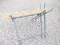 Folding Log Sawhorse Stand for Chain Chainsaw (Never Used)