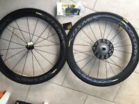 Mavic Cosmic Pro Carbone Exalith Wheels, Shimano/SRAM 11 SPD + Tyres & More - NEW