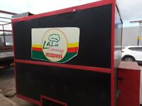 Catering trailers lpg equipment burger van mobile kitchens