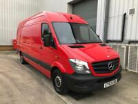 2014 MERCEDES SPRINTER 310CDI LWB RED NEW SHAPE REVERSE CAMERA 1 OWNER MAY PX CARS VANS