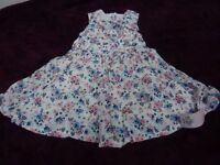 Brand New With Tags Baby Girl's Dress 12-18 months