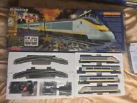 HORNBY R1013 EUROSTAR TRAIN SET (centre coach pack R4013 also avl)!
