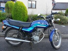 Honda CG 125 1994 very low mileage