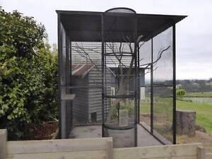 Large walk-in aviary Kallista Yarra Ranges Preview