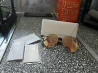 100% authentic michael kors aviator sunglasses