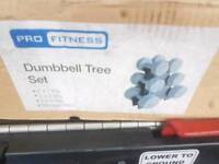 Dumbbell set brand new