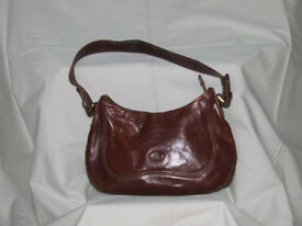 Leather Handbag by 'The Bridge' (well used)