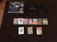 Sega mega drive 2 with 11 games