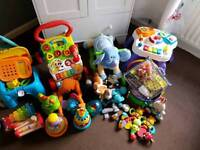 Massive lot of kids/baby toys