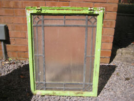 Crittall (steel) windows - various styles and sizes.