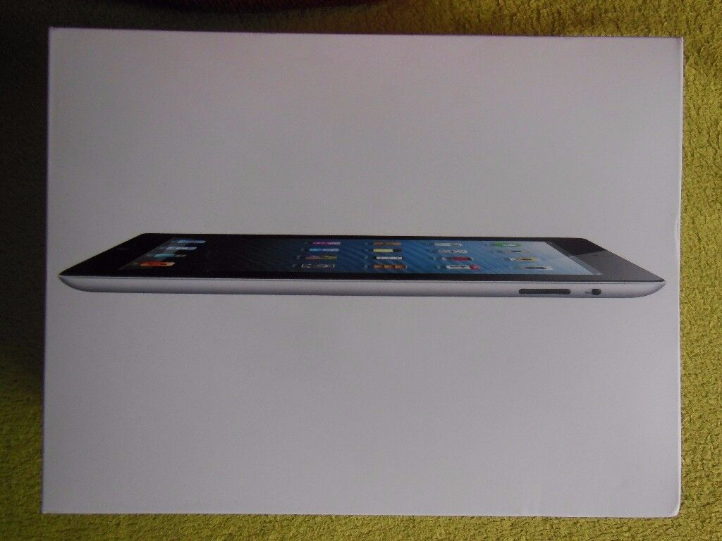 Apple iPad 4th Generation Model A1458 Wifi 32GB Black 9.7 inch Retina Display, Immaculate Condition.