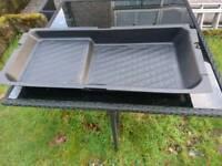 Volvo boot under tray