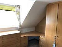 Bedroom wardrobes and drawers. Can be separated and repositioned. Good for garage storage