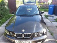 Hi im breaking a 03 plate bmw 316 ti compact all parts avalible