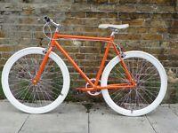 Brand new single speed fixed gear fixie bike/ road bike/ bicycles + 1year warranty & free service h0
