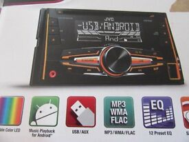 JVC KW-R520 Double din Car stereo/CD player