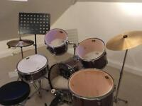 CB 5 Piece Drum Fusion Kit (from new)