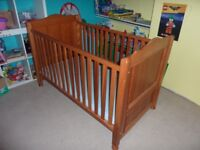 Cot Bed in excellent condition